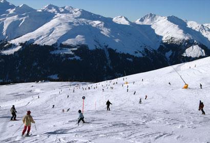 Davos Ski Resort Switzerland