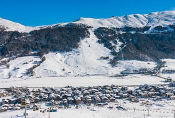 Livigno ski resort Italy