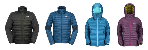 snow and rock jackets