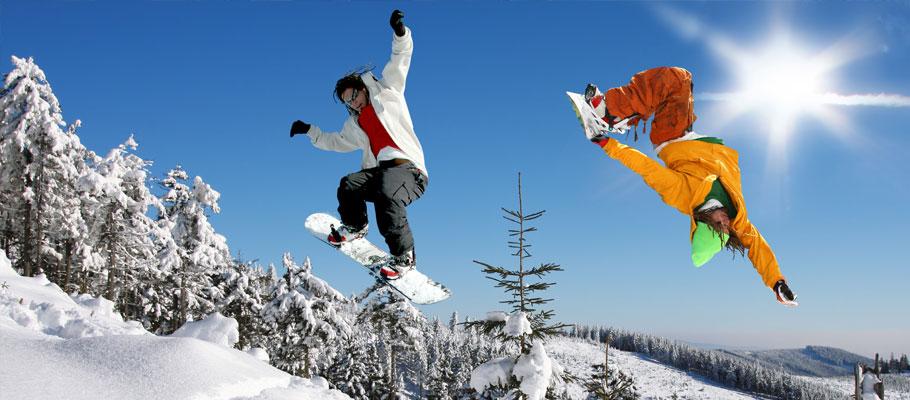 Snowboarding Ski & Snowboard Resorts
