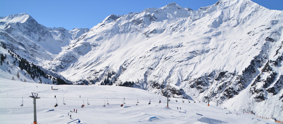 St Anton Ski Resort Austria